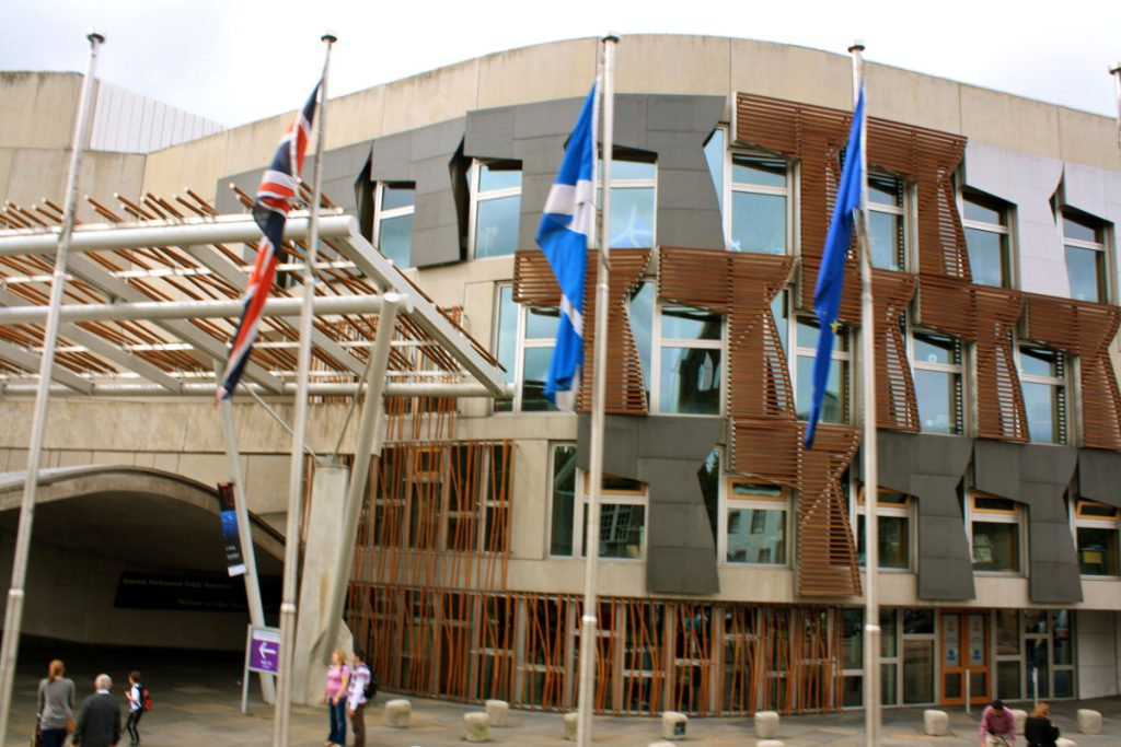 Ductwork Installation Scottish Parliament