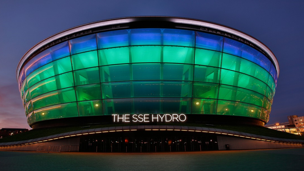 SSE Hydro construction