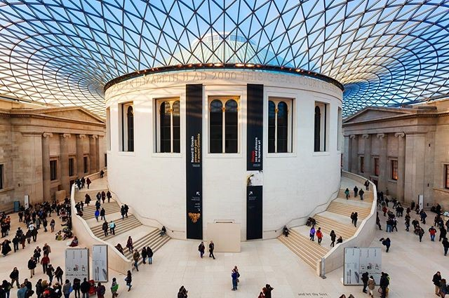 british museum-construction