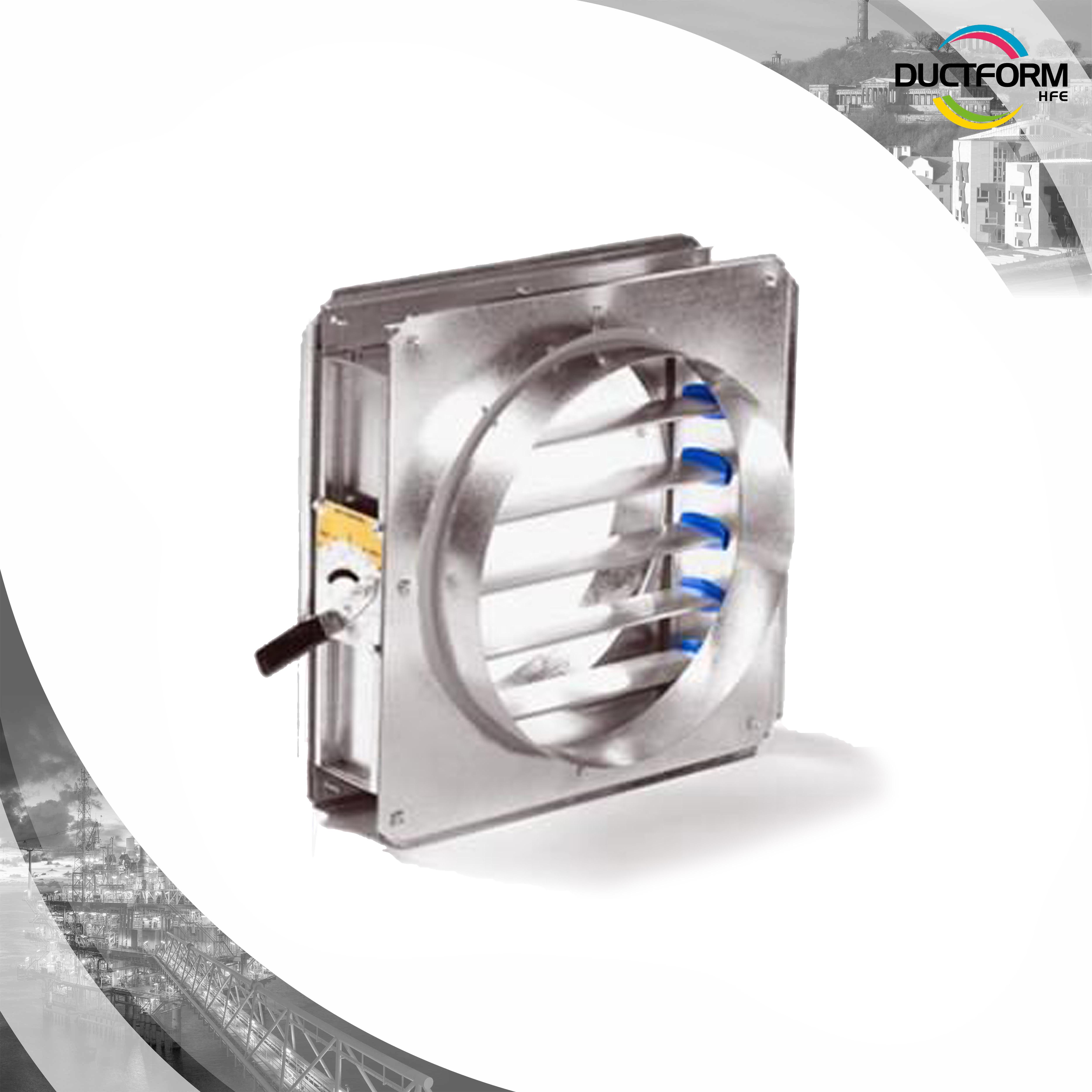 Ducting Volume Control Damper Circular
