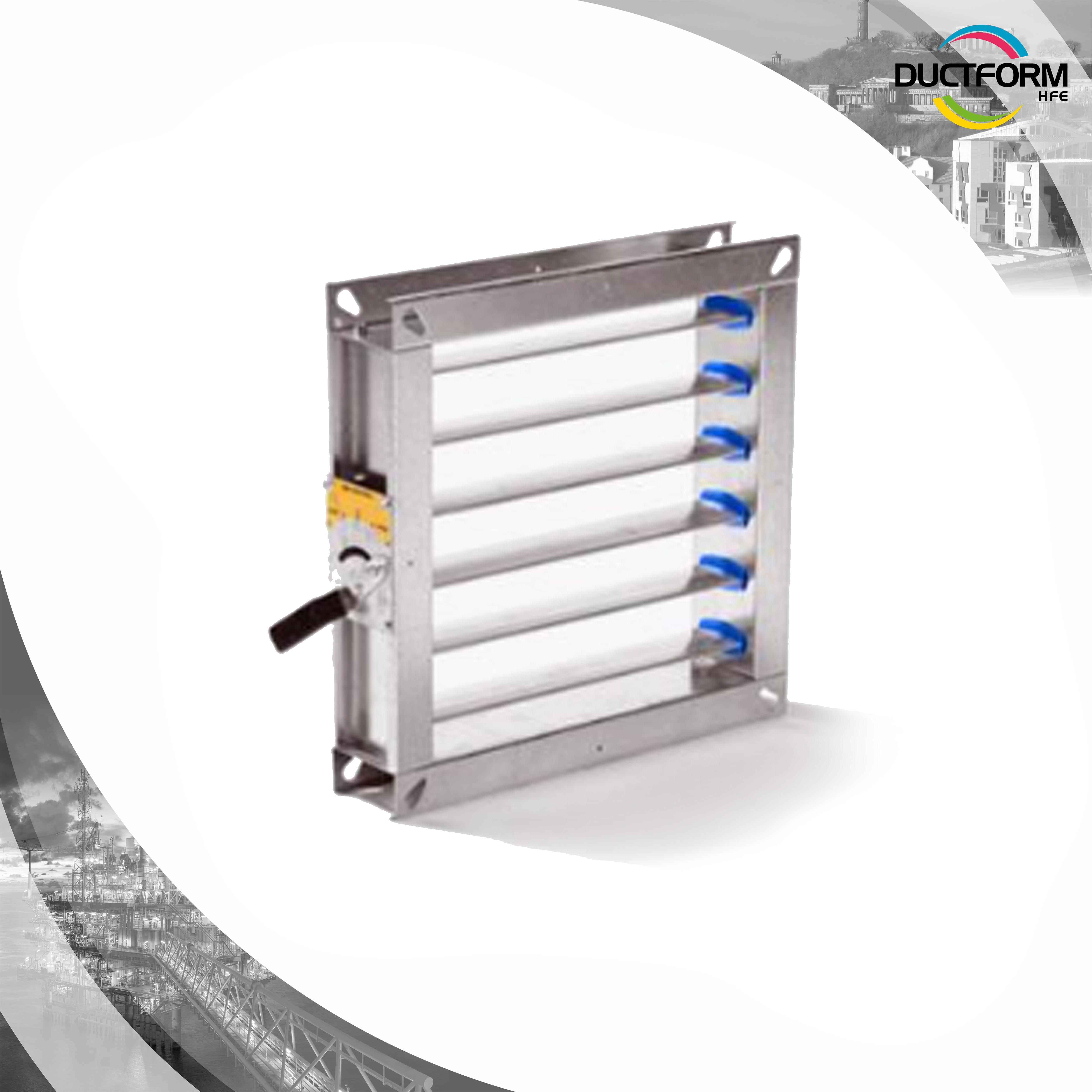 Ducting Rectangular Volume Control Damper